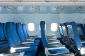 Sillas en el avión