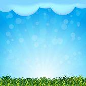 Landscape background presentation