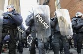 G20 Protest in Toronto.
