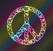 Peace Sign Plasma