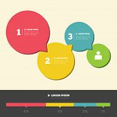 Infographic design layout