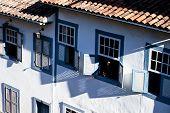 View Of The Unesco World Heritage City Of Ouro Preto In Minas Gerais Brazil