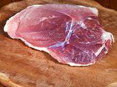 Piece Of Raw Pork