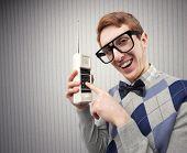 Estudiante nerd