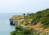 The Beautiful View On Sri Chang Island At Sriracha Ampor ,chonburi Province,thailand