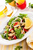 pic of artichoke hearts  - Marinated Artichoke Hearts Salad - JPG