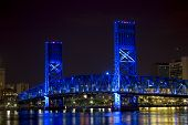 Jacksonville, Florida Blue Bridge