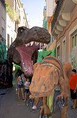 Tyrannosaurus on Festa Major