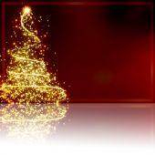 Постер, плакат: Абстрактные Рождественская елка