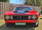 Ford Mustang Mach 1 Front View