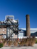 stock photo of sugar industry  - Old sugar cane factory  - JPG