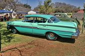 1958 Chevrolet Biscayne 4 Door Side View