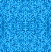 pic of plexus  - Blue background with abstract concentric radial pattern - JPG