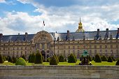 The Ecole Militaire In Paris, France.