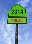 2014 Ahead Roadsign