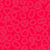 Valentine's Candy Background