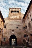 Santi Quattro Coronati Ancient Basilica In Rome, Italy