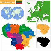 Administrative division of the Republic of Lithuania