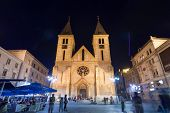 SARAJEVO, BOSNIA AND HERZEGOVINA - AUGUST 13, 2012: The Sacred Heart Cathedral, the largest cathedra