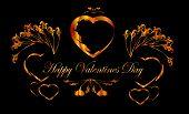 Happy Valentine's day frame