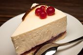 Cheesecake With Red Currants