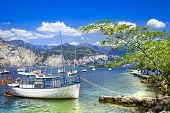 scenery of beautiful Italy series - lago di Garda