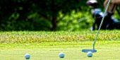 Golf putting practice