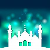 Mosque Islamic background