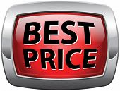best price bargain and discount sale, low product price icon or label. Bargain and sales offer. Prom