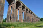 picture of masterpiece  - Ouse valley viaduct in Sussex, England. Brick built Victorian masterpiece.