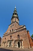 St. Peter Church (1209) In Riga, Latvia