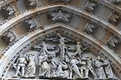 Decoration Of Tympanum St. Vitus Cathedral