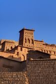 Morning View On Casbah Of Benhaddou