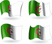 4 Flags of Algeria