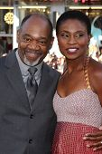LOS ANGELES - JUN 17:  Gregg Daniel, Adina Porter at the HBO's