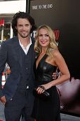 LOS ANGELES - JUN 17:  Nathan Parsons, Kristen Alderson at the HBO's