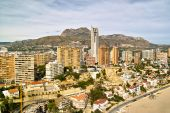 Birdview of Benidorm
