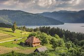 Little Romanian House On The The Shore Of Lake Bicaz
