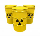 Yellow Radioactive Barrels