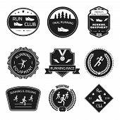 Running icons label