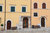 Glimpse Of Visso, Beautiful Village In The Province Of Macerata - Italy