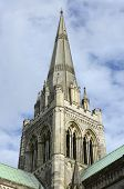 Spire Of Chichester Cathedral. England