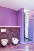 interior, new house, comfortable bathroom