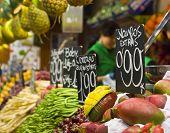 Food market, Barcelona.