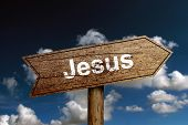 Jesus Road Sign
