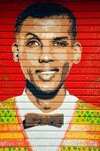 Street art belge singer Stromae