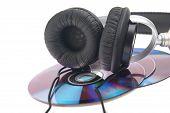 Headphone And Compact Discs
