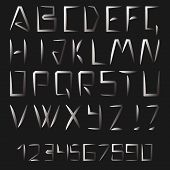 Latin Alphabet Letters And Numbers