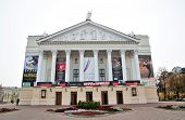 Kazan, Tatarstan - SEPTEMBER 27: The building of the Opera and Ballet named after Musa Jalil.
