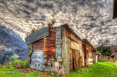 Abandoned Old House In The Mountain